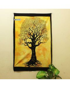 Yellow Lucky Tree Poster