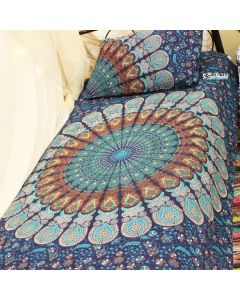 Akasha Twin Duvet Cover With Pillow Set