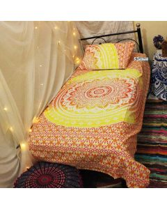 Mali Twin Duvet Cover With Pillow Set