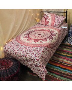 Myra Twin Duvet Cover With Pillow Set