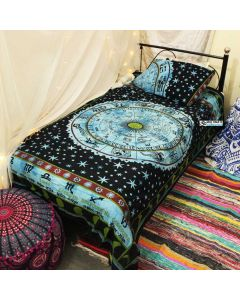 Wheel Twin Duvet Cover With Pillow Set