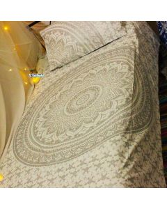 Moonstone Twin Duvet Cover With Pillow Set