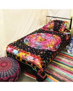 Ring Twin Duvet Cover With Pillow Set