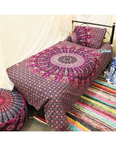 Ghoomar Twin Duvet Cover With Pillow Set