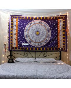 Astrology Small Tapestry