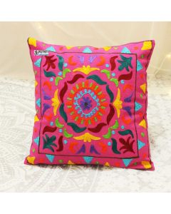 Handmade Suzani Decorative Pillow