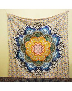 Lotus Flower Large Tapestry