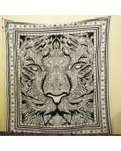 Rasta Lion Large Tapestry