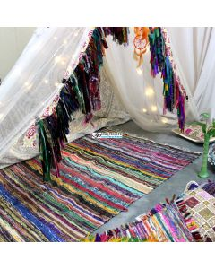 Cheap Indian Rug Woven Area Rag Rugs