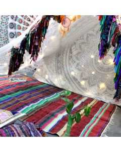 Colorful Boho Shaby Floor Rug and Mats