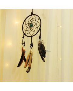 Brown Floral Dream catcher