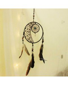 Brown Moon Dream catcher