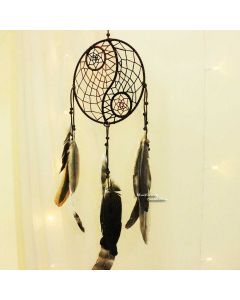 Natural Yin Yang dream catcher
