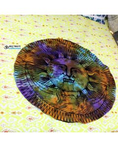Deepkala Small Round Blanket - Classic