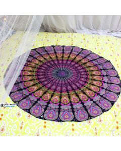 Paradise Small Round Blanket - Classic