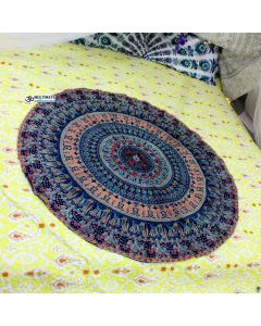 Living Small Round Blanket - Classic