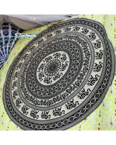 Siddhi Large Round Blanket - Classic