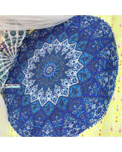 Blessing Large Roundie With Pom Pom