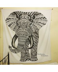 Giant Elephant Large Wall Tapestry