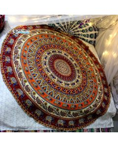 Dancing Large Round Blanket - Classic