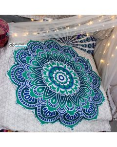 Classy Large Round Blanket - Classic