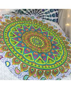 Memories Large Round Blanket - Classic