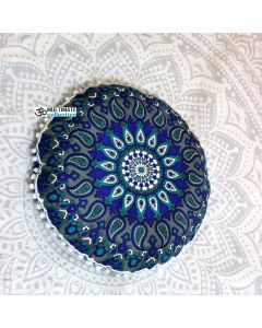 Round Floor Pillow - Pom Pom