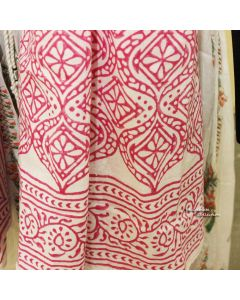 Ethnic Pink Scarf