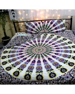 Blossom Queen Duvet Cover With Pillow Sets