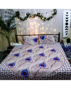 Mayur Queen Duvet Cover With pillow Set