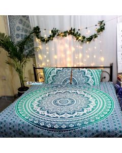 Emerald Queen Duvet Cover With Pillow set
