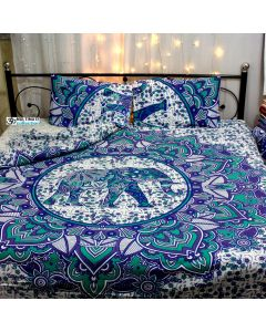 Strength Queen Duvet Cover With Pillow Set