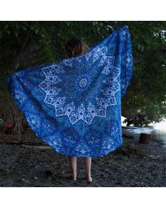 Blessing Large Round Blanket - Classic