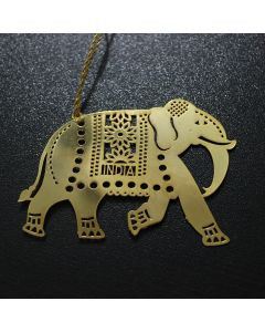 Golden Elephant Bookmark