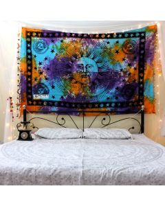 Sun Moon Small Tapestry