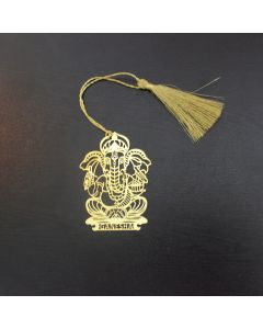 Golden Ganesha Bookmark