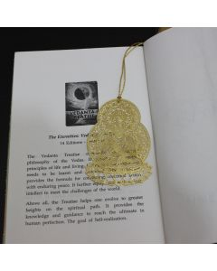 Golden Buddha Bookmark