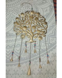 Antique Tree of Life Design Metal Hanging