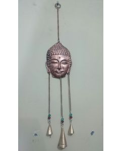 Copper Budha Design Metal Hanging