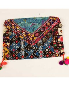 Indian Handicraft Clutch Tribal Bag